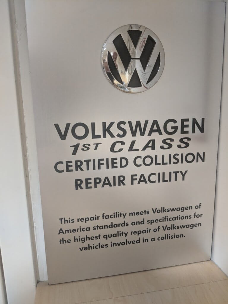 VW-certified-Collision-Repair